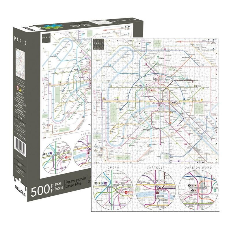 Paris Metro 500pc Jigsaw Puzzle
