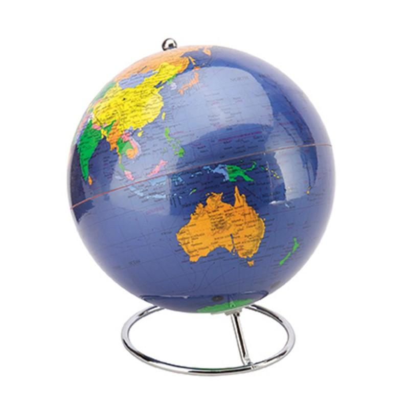 Blue Desk Globe - 20cm