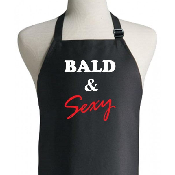 Bald and Sexy Apron