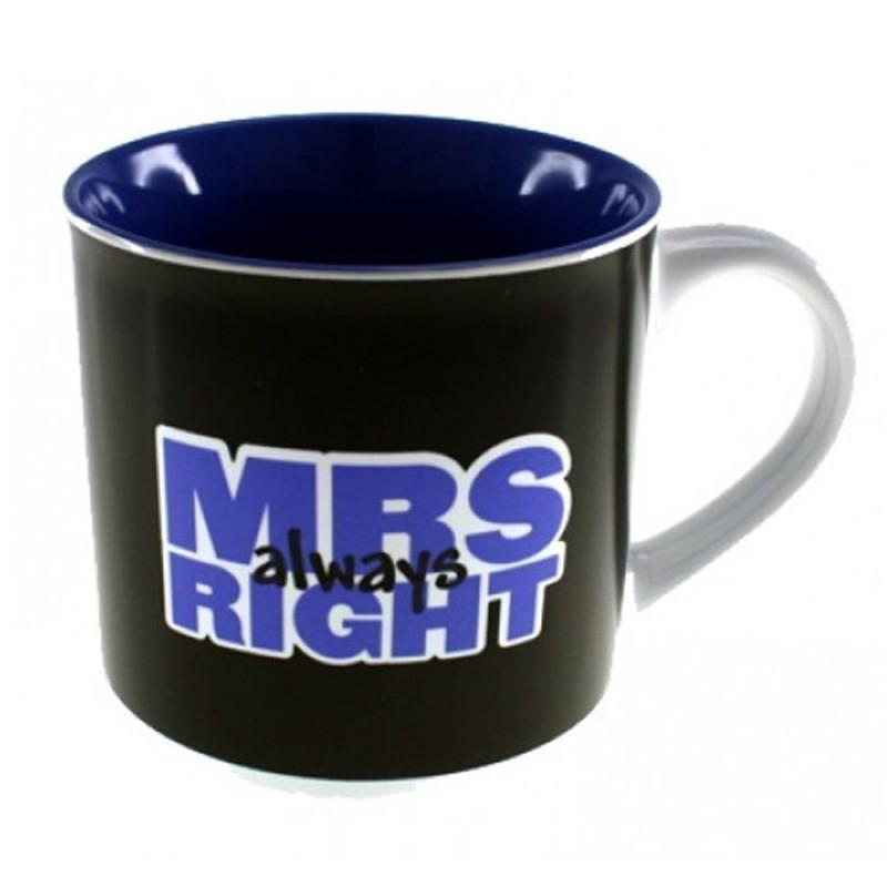 Mrs. (Always) Right Mug