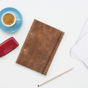 Make Your Own Leather Notebook