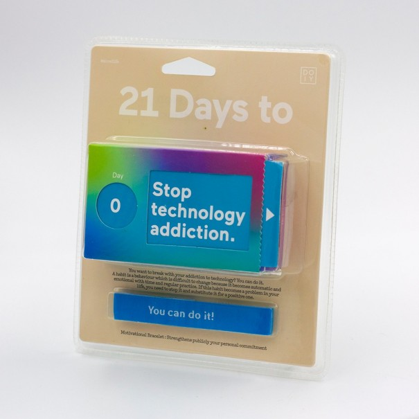 21 Days to Stop Technology Addiction Ticket Box