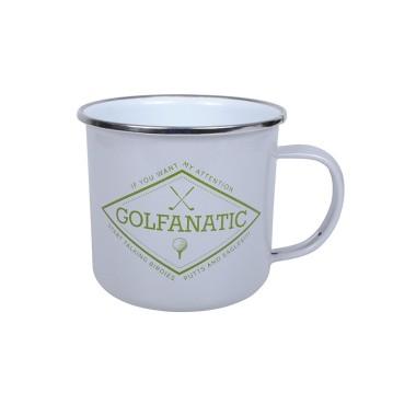 Golfanatic Enamel Mug