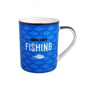 Man I Love Fishing Mug