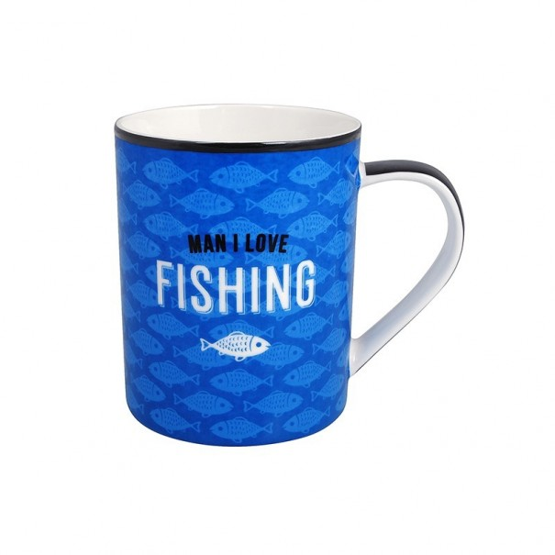 Man I Love Fishing Mug