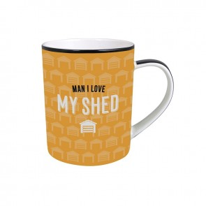 Man I Love My Shed Mug