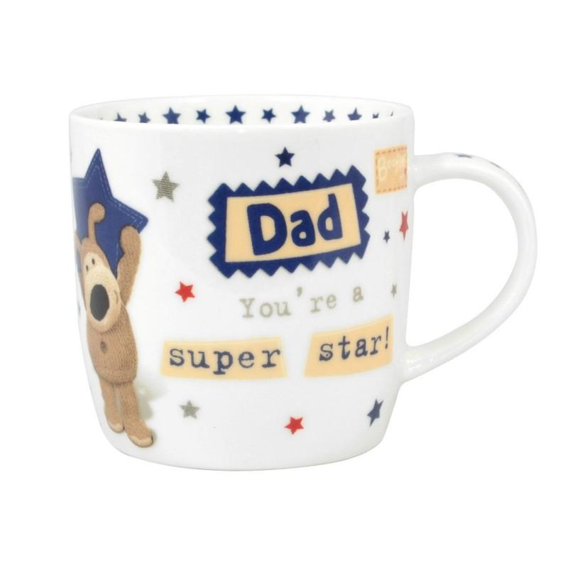 Super Star Dad Boofle Mug