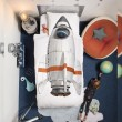 Quilt Cover Set Rocket by Snurk