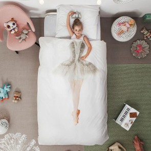Quilt Cover Set Ballerina by Snurk