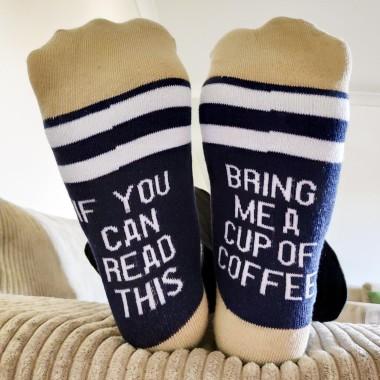 Bring Me Coffee Socks