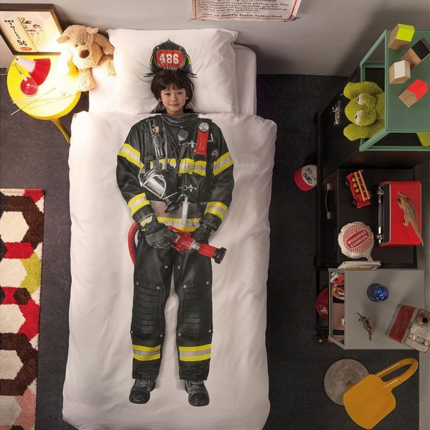Quilt Cover Set Firefighter by Snurk