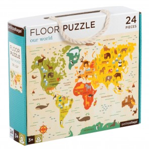 Our World Floor Puzzle - 24 Pieces