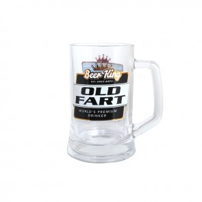 Old Fart Premium Beer Stein by Beer King