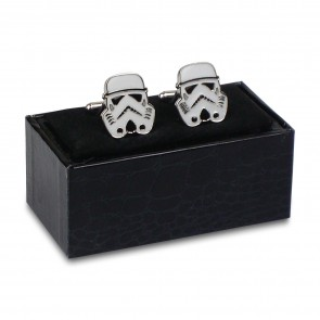 Star Wars Stormtrooper Cufflinks with Box