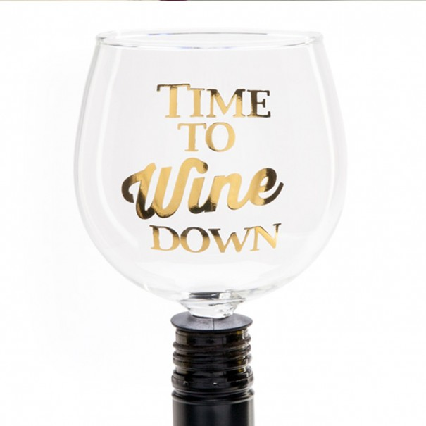 Time To Wine Down Tipple Topper