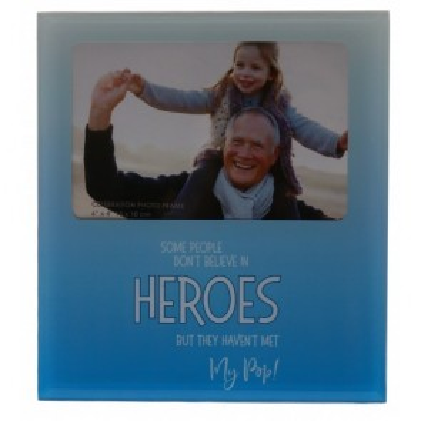 My POP the Hero Glass Photo Frame