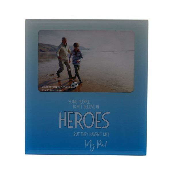 My PA the Hero Glass Photo Frame