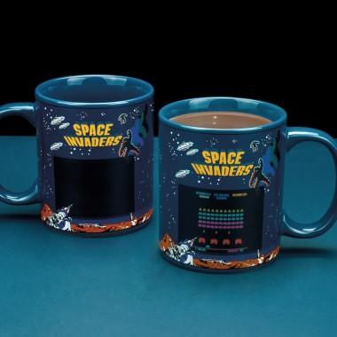 Space Invaders Heat Changing Mug