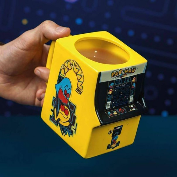 Pac Man Arcade Machine Mug