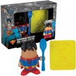 Superman Egg Cup and Toast Cutter Set