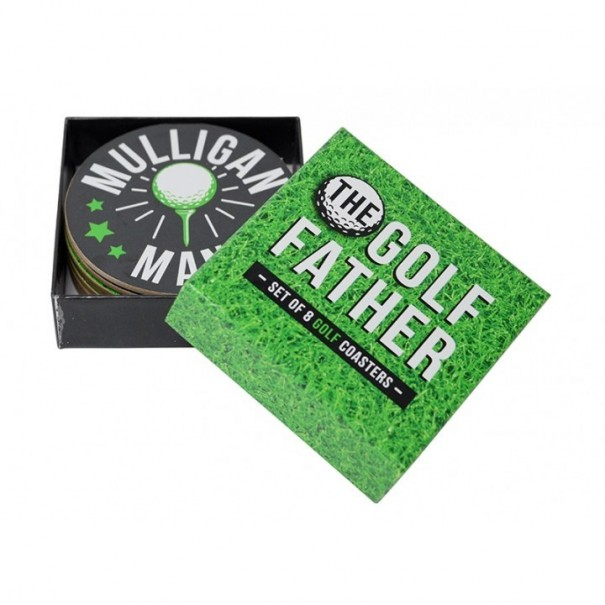 The Golf Father - Set of 8 Golf Coasters