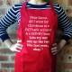 Dear Santa Christmas Apron