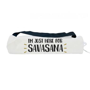 Yoga Mat Bag with Bonus Mat - Savasana