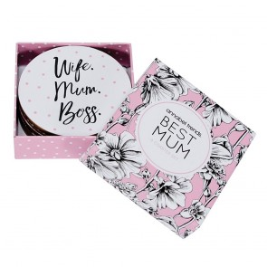 Best Mum - Set of 8 Coasters