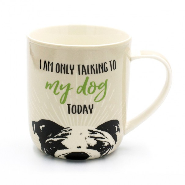 Talking To My Dog Mug