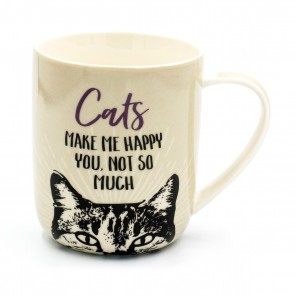 Cats Make Me Happy Mug