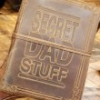 Secret Dad Stuff Genuine Leather Journal by Indepal Leather
