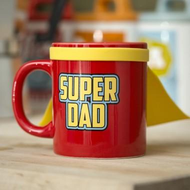 Super Dad Mug with Cape