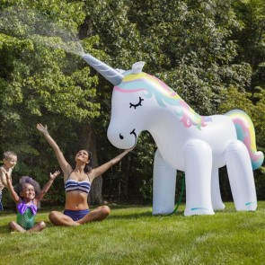 Ginormous Inflatable Unicorn Yard Sprinkler