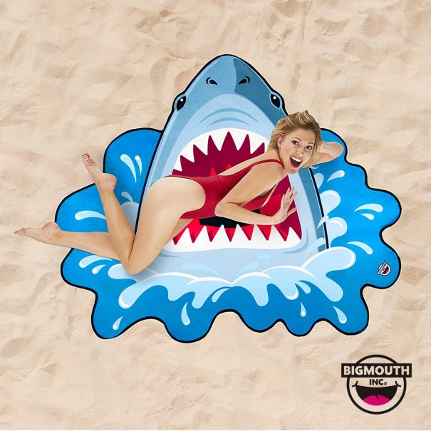 Gigantic Shark Beach Towel