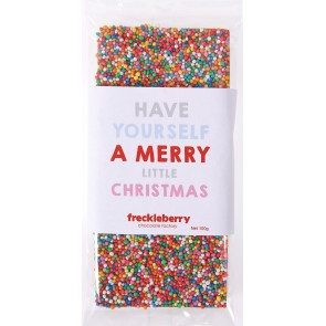 Have Yourself A Merry Little Christmas Freckles Chocolate Bar