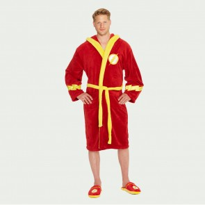 Flash Hooded Fleece Bathrobe