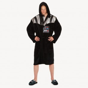 Darth Vader Chest Plate Fleece Bathrobe