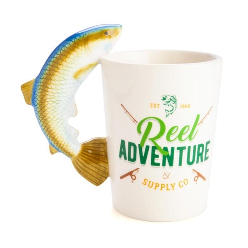 Reel Adventure Fishing Mug