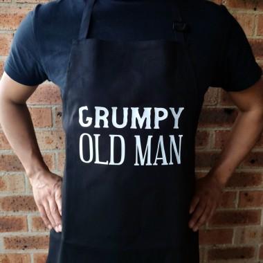 Grumpy Old Man BBQ Apron