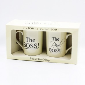 The Boss & The Real Boss Pair Mug