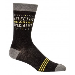 Selective Hearing Specialist Socks