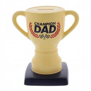 Champion Dad Trophy Money Bank