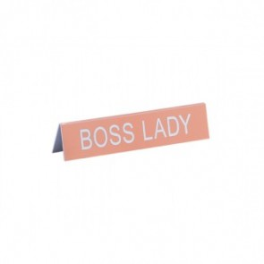 Boss Lady Desk Sign