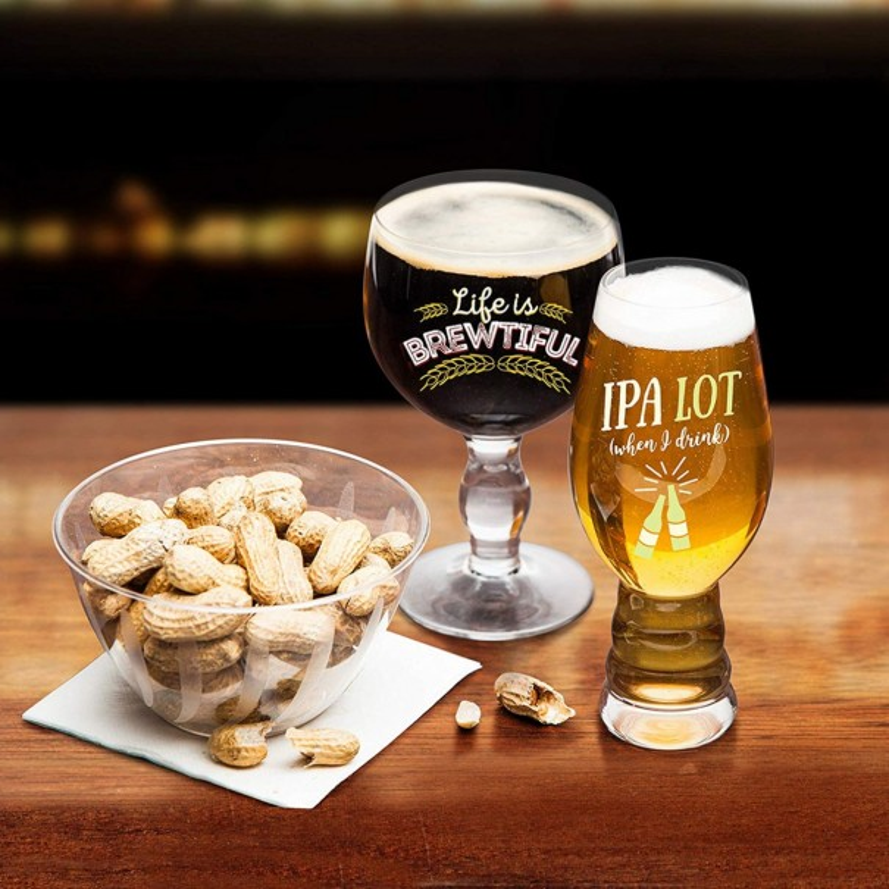 Beer Snob Glass Set
