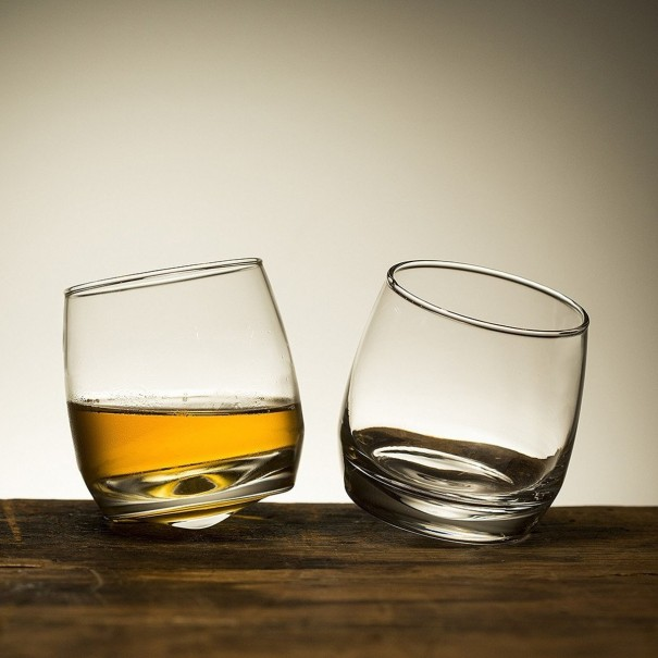 Rocking Whisky Glasses - Set of 6 by Sagaform