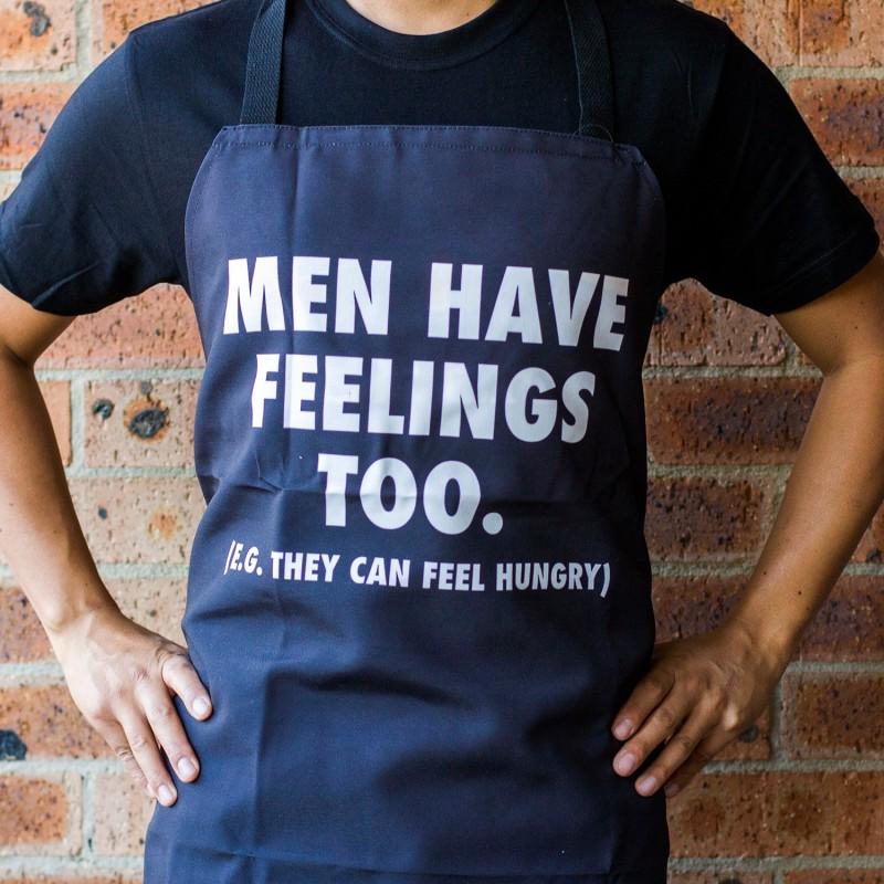 Men Have Feelings Too Apron