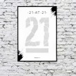 21 at 21 Scratch & Reveal Challenge Poster