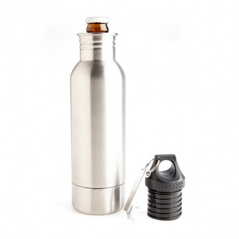Stubby Cooler Secret Flask