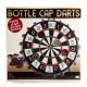 Magnetic Bottle Cap Darts Game