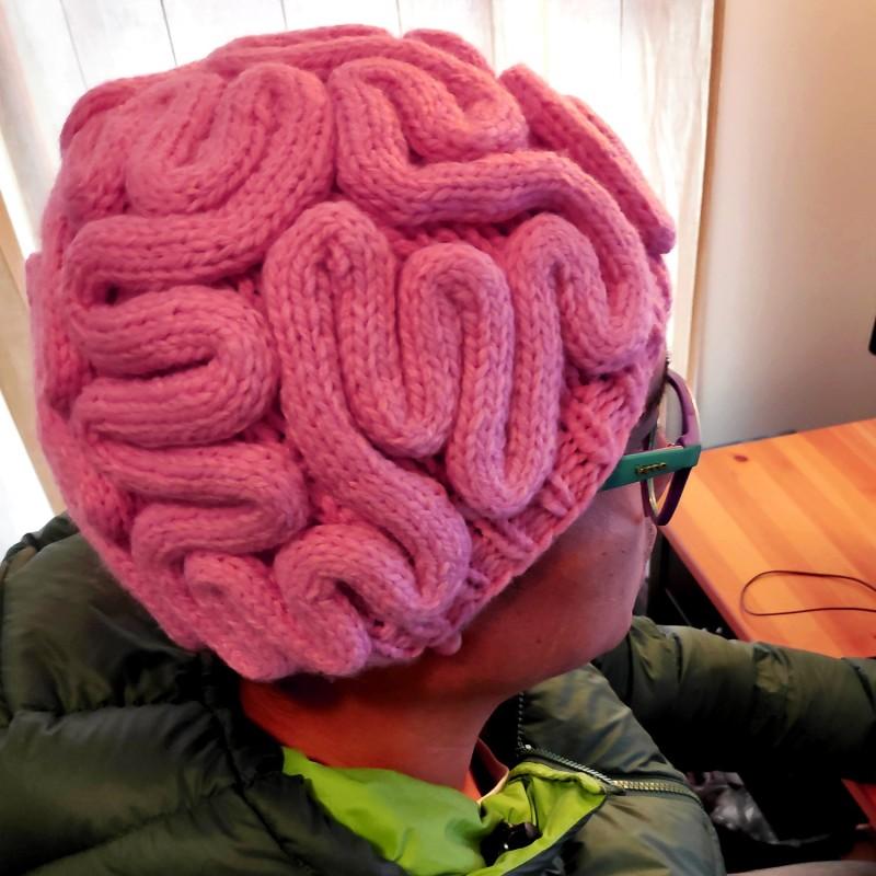 Brain Knitted Beanie
